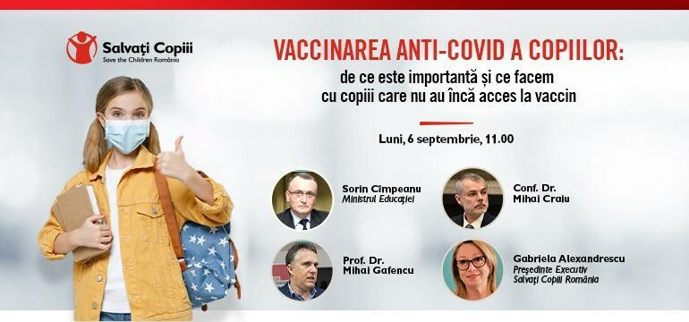 Dezbatere privind vaccinarea copiilor. Date importante oferite de medici