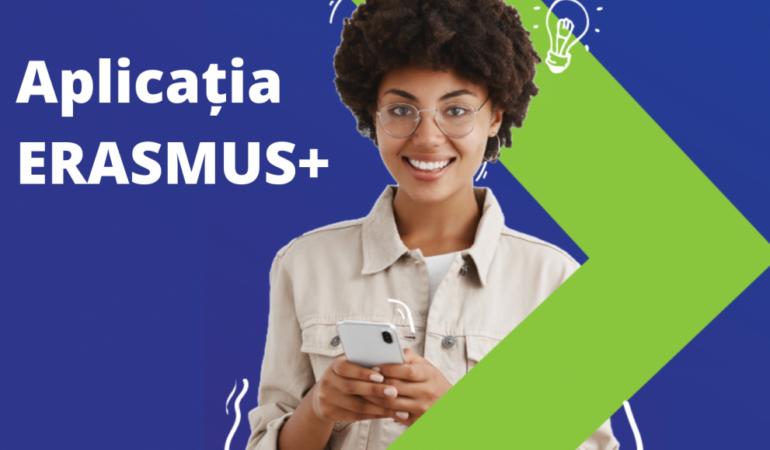 Noua aplicație Erasmus+. Studenții vor renunța la documente pe bază de hârtie