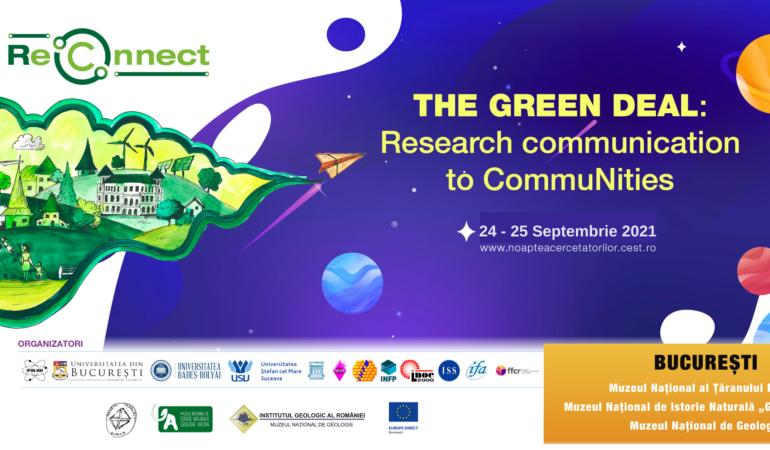 Noaptea Cercetătorilor ReCon-nect 2021. Evenimentul dedicat pasionaților de știință