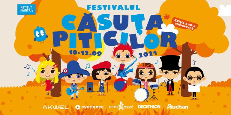 Festivalul Căsuța Piticilor, un eveniment organizat de Institutul Francez Timișoara
