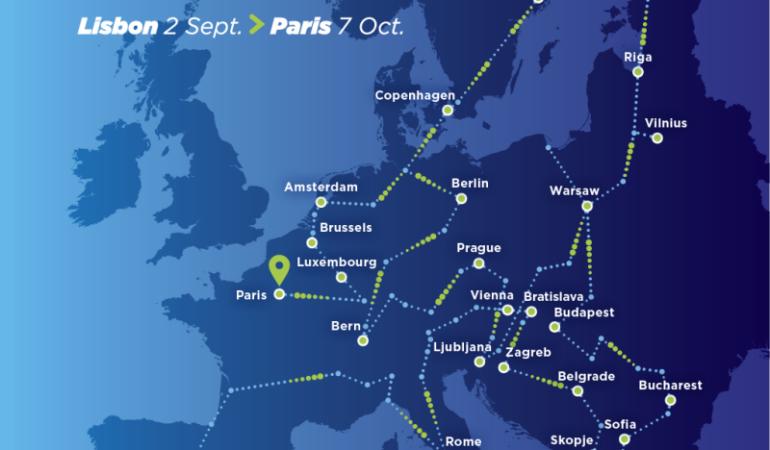 Trenul creat cu ocazia Anului European al Căilor Ferate pleacă astăzi din Lisabona