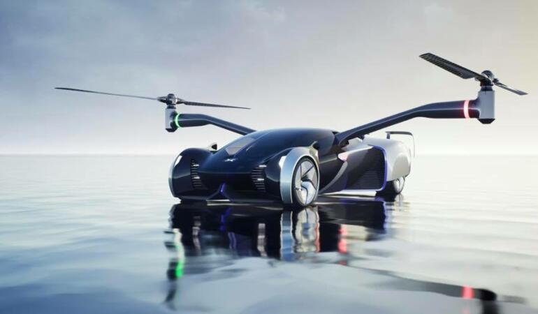 Noua mașină zburătoare