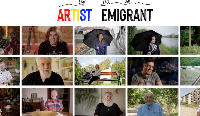 """Poveștile artiștilor contemporani plecați din țară, adunate-n serialul """"Artist Emigrant"""""""