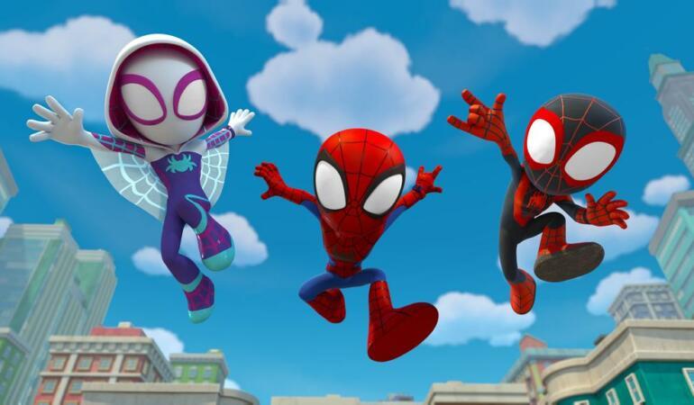 """""""Păienjenelul Marvel și prietenii lui uimitori"""", un nou serial Disney Junior"""