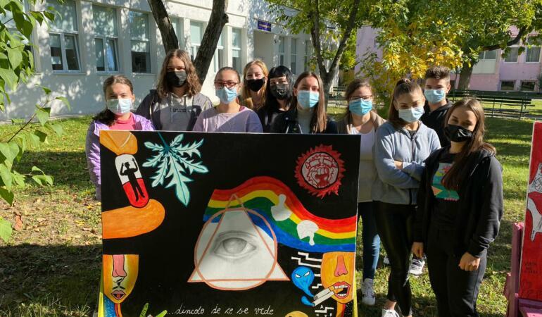 Prin artă luptăm împotriva drogurilor. Campania anti-drog pentru tinerii Timișoreni
