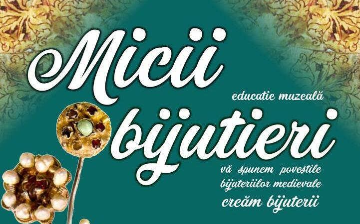 """""""Micii bijutieri"""", atelier de bijuterii medievale pentru copii"""